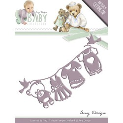 Wykrojnik Amy Design - Baby Collection - Clothes line